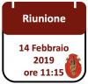 Riunione, 14 febbraio 2019 ore 11:15
