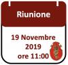 Riunione, 19 Novembre 2019 ore 11:00