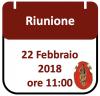 Riunione, 22 Febbraio 2018 ore 11:00
