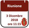 Riunione, 3 Dicembre 2018 ore 11:15