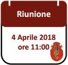 Riunione, 4 Aprile 2018 ore 11:00